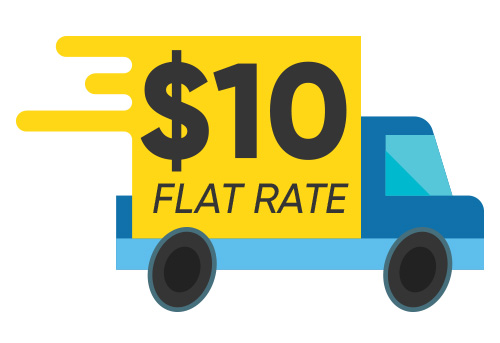 $10 Flat Rate Shipping Australia Wide